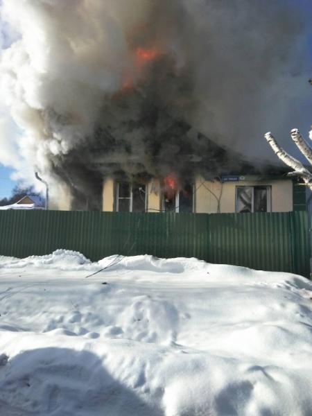 В Переславле в пожаре погиб 42-летний мужчина