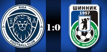 «Шинник» уступил «Риге» в матче за третье место в Кубке ФНЛ