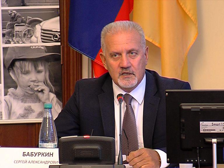Сергей Бабуркин останется на посту уполномоченного по правам человека в регионе
