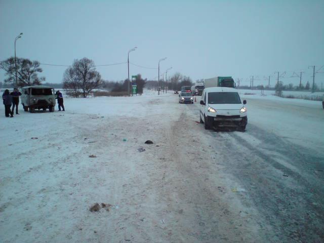 Крупное ДТП в Ярославской области: столкнулись пять машин