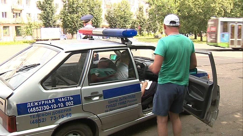 Ярославец пытался скрыться от полиции на краденой «десятке»