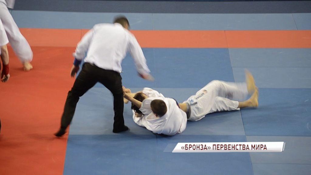 Ярославец стал бронзовым призером первенства мира по джиу-джитсу среди аспирантов