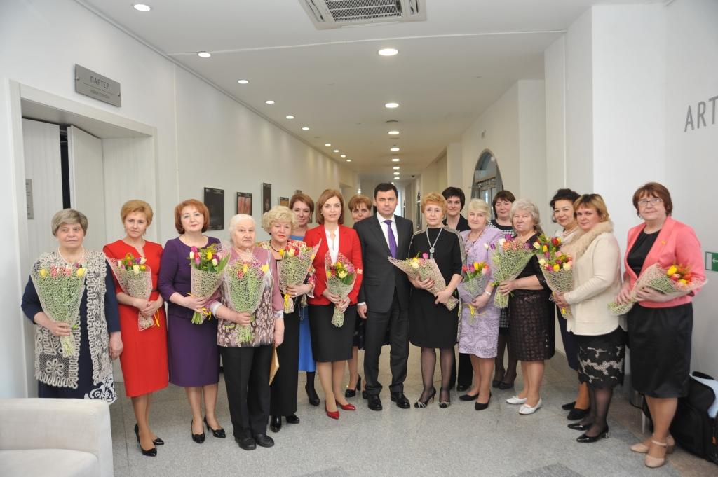 Дмитрий Миронов встретился с активом Ярославского союза женщин