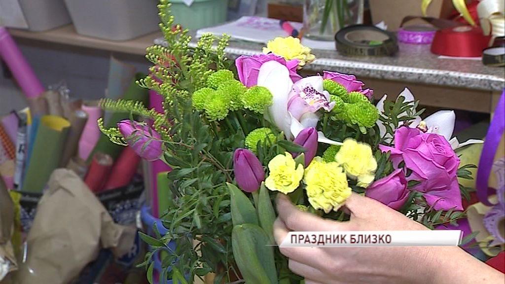 Волонтеры будут 8 марта дарить цветы случайным девушкам на улицах Ярославля