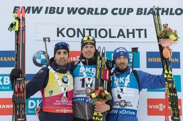 Мартен Фуркад подарил серебряную медаль Кубка Мира болельщице из Ярославля
