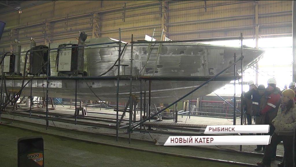 Крупный концерн в нашем регионе начал производство катеров для Росгвардии