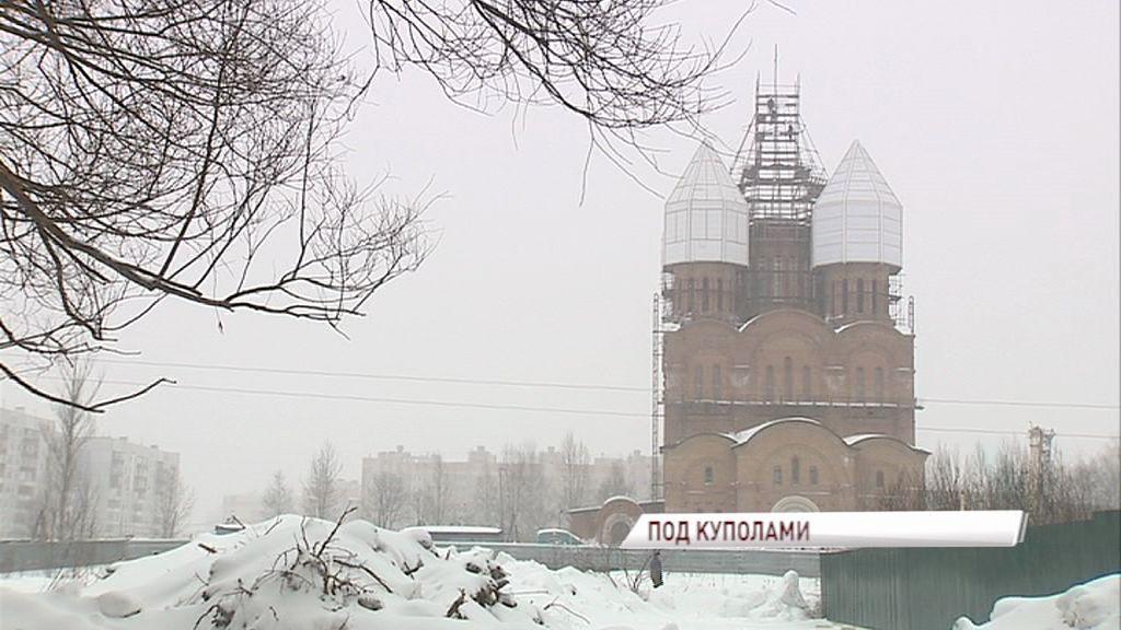 На Свято-Тихоновском храме скоро засияют купола