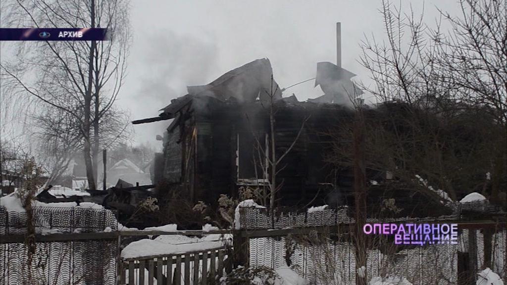 Пожилая женщина погибла в огне в Брейтовском районе