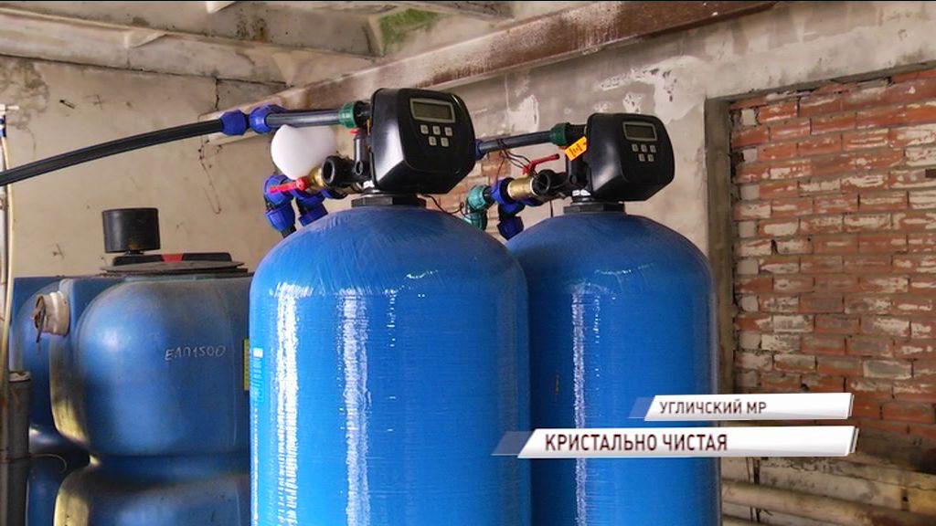 К жителям поселка Отрадное Угличского района вернулась чистая вода