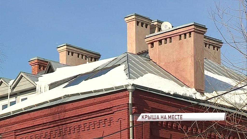 В поселке Текстилей отремонтировали крышу пострадавшего от пожара дома