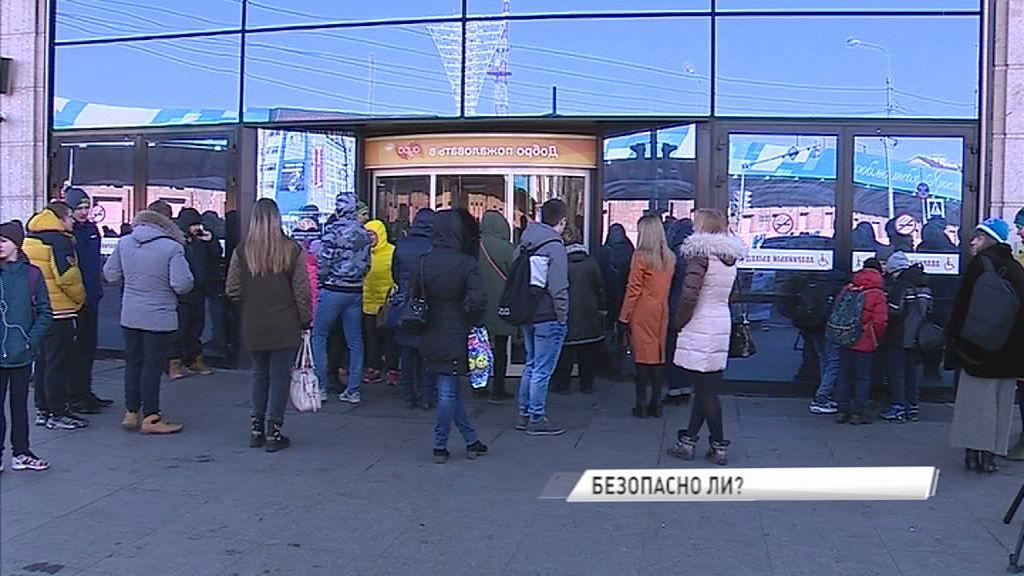 Куда бежать, если пожар: в Ярославле проверили крупнейший торговый центр в связи с трагедией в Кемерове