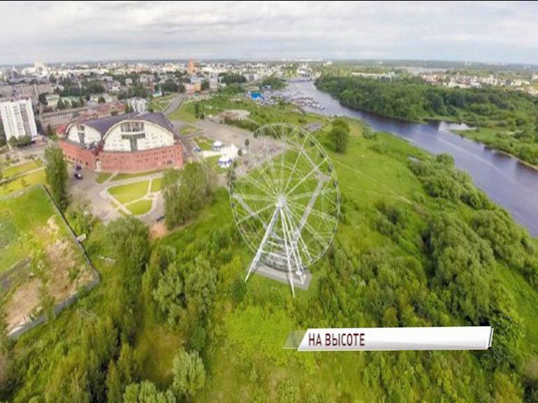 В Ярославле начали собирать гигантское колесо обозрения