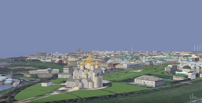 ВИДЕО: Архитекторы создали 3D модель Ярославля