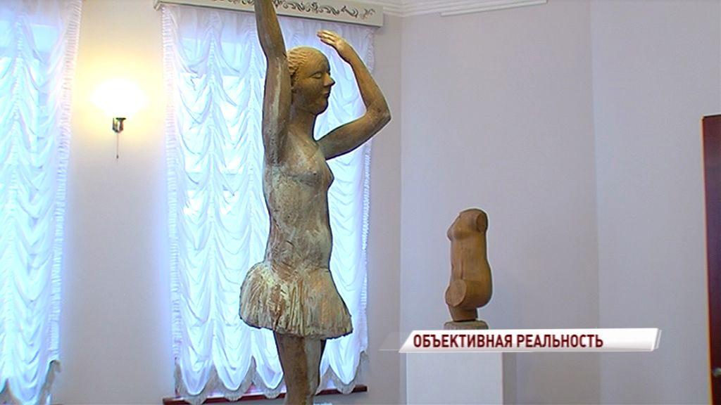 В Ярославле открылась выставка скульптур Виктора Корнеева «Объективная реальность»
