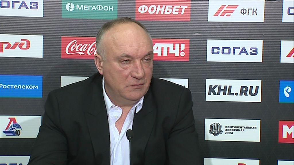 Президент ХК «Локомотив» подвел итоги сезона основной команды на традиционной пресс-конференции