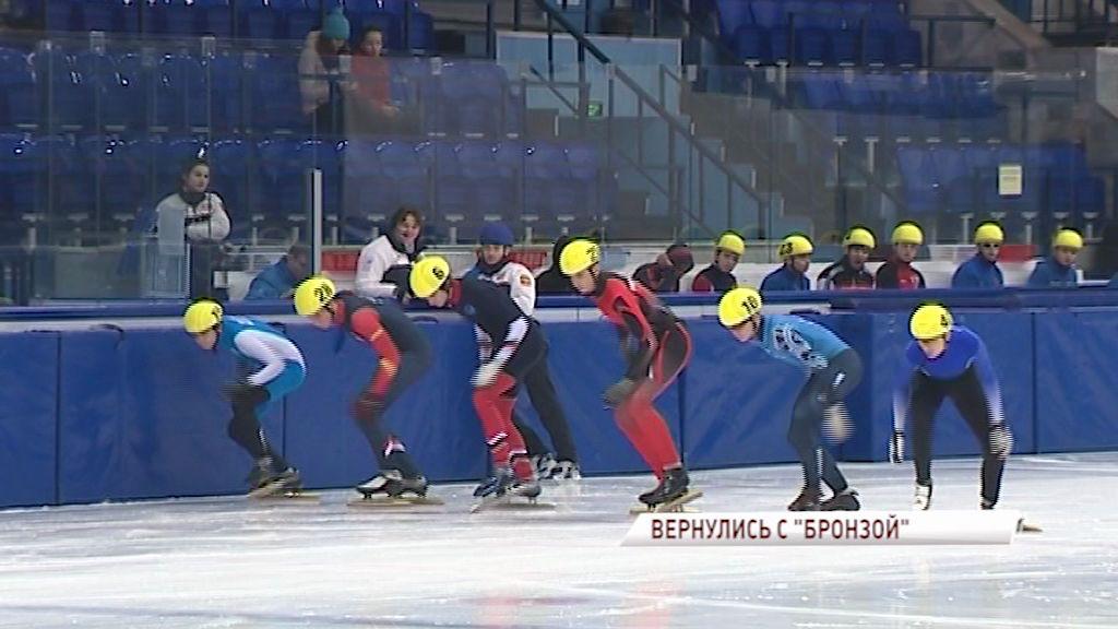 Сборная Ярославской области по шорт-треку завоевала «бронзу» на чемпионате России