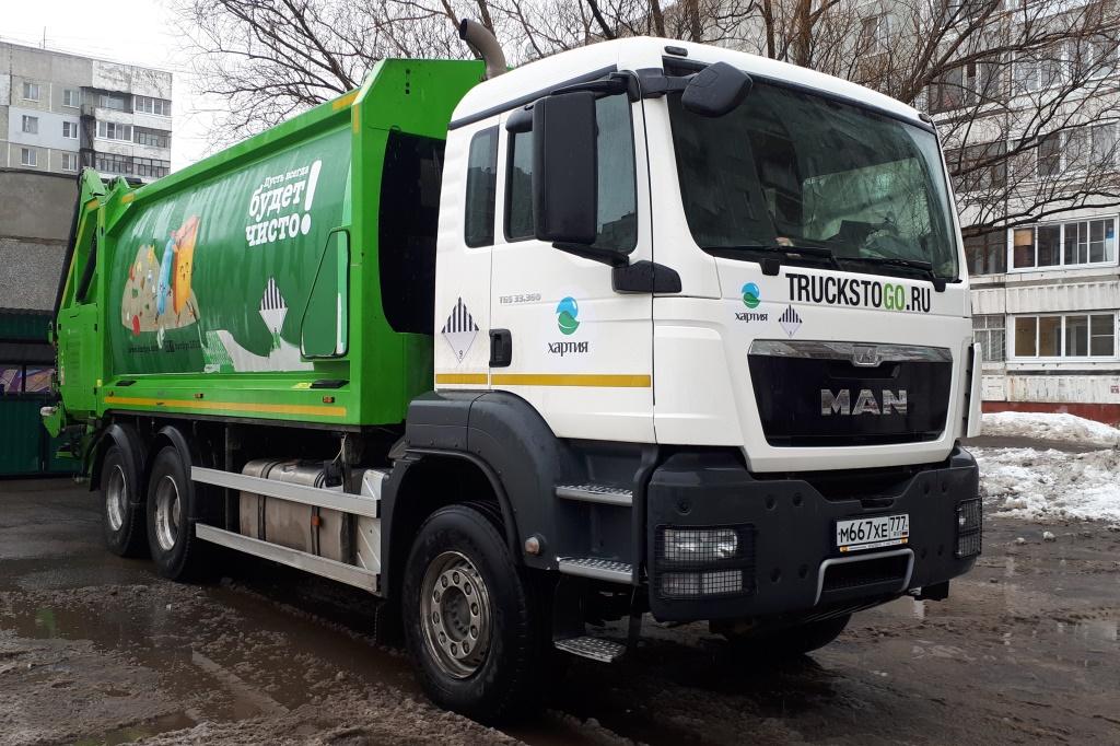Директор управдома Дзержинского района: «Московские мусоровозы работают без нареканий»