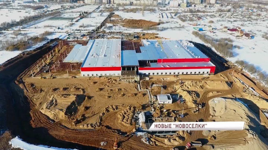 Свежие фрукты на все прилавки: в Новоселках продолжается строительство оптово-распределительного центра