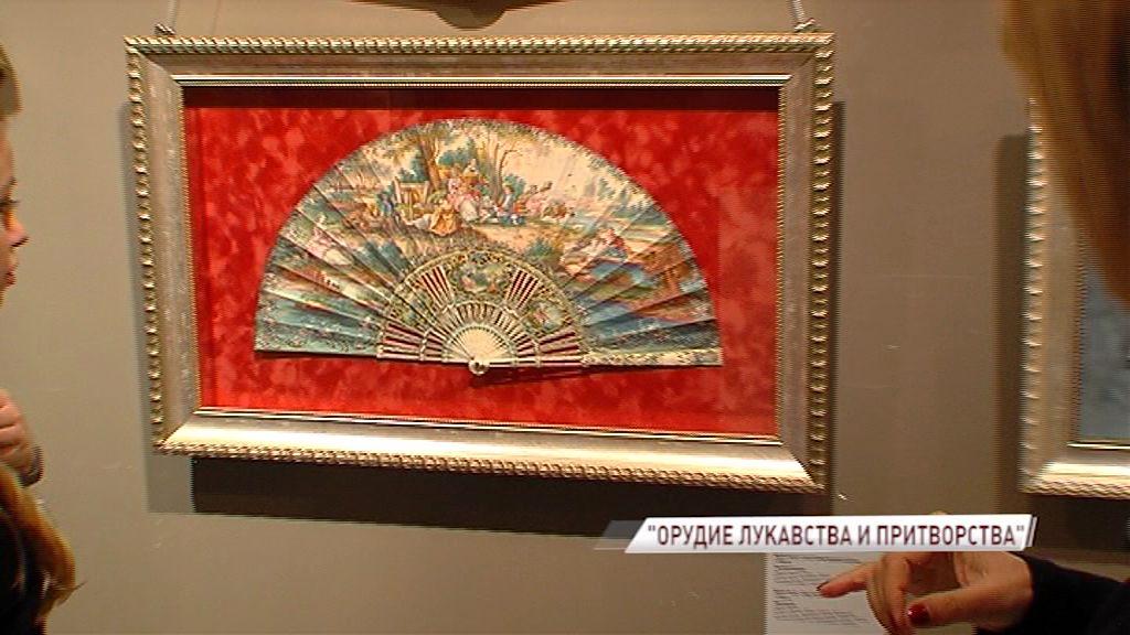 В Ярославль приехала уникальная коллекция вееров из разных стран