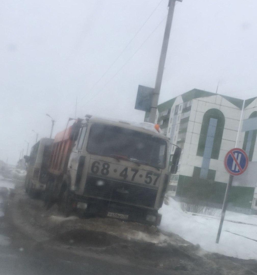 Ярославец потерял грузовик в Тутаеве