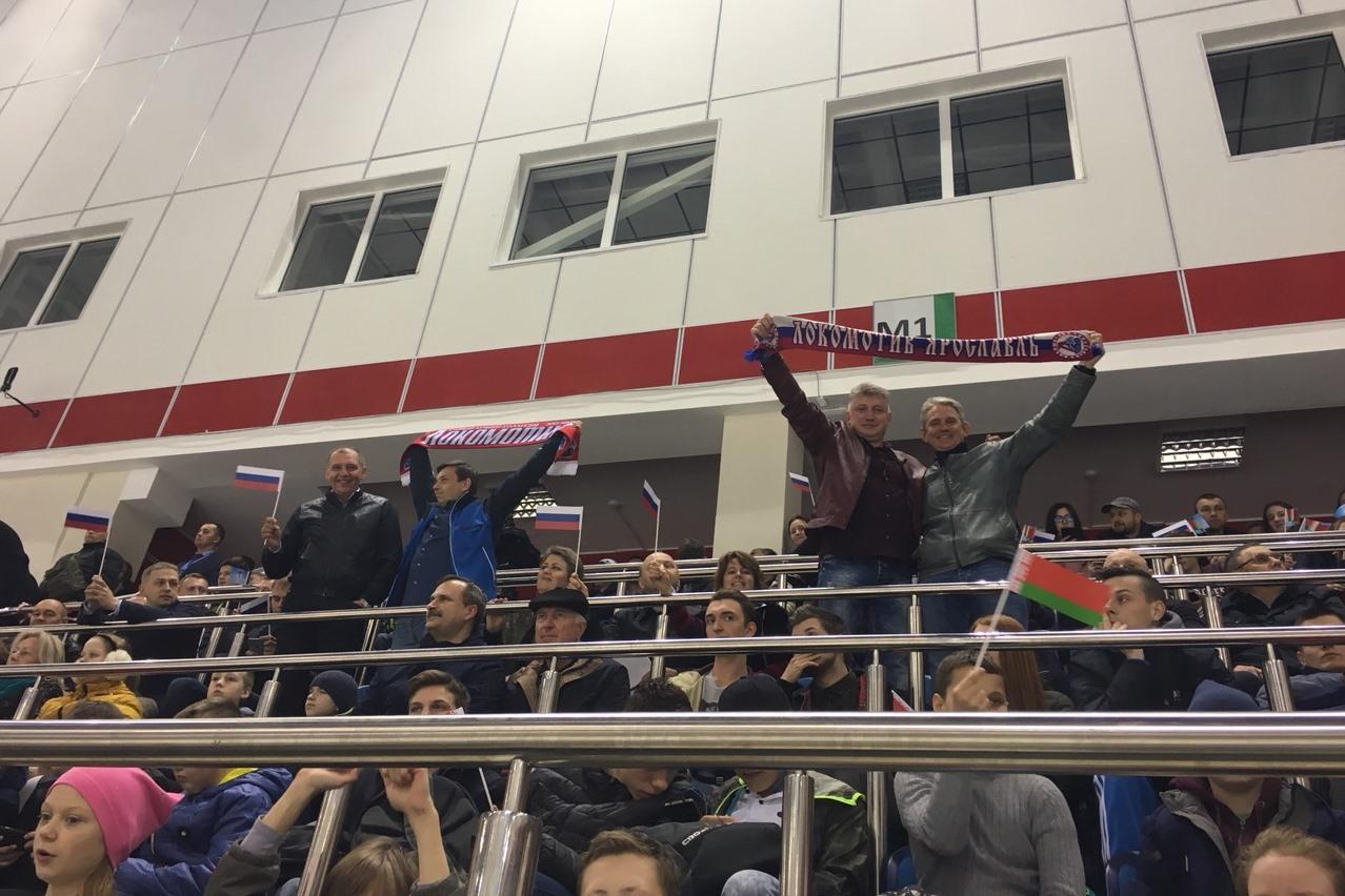 Дмитрий Миронов сыграл в хоккей против команды Александра Лукашенко