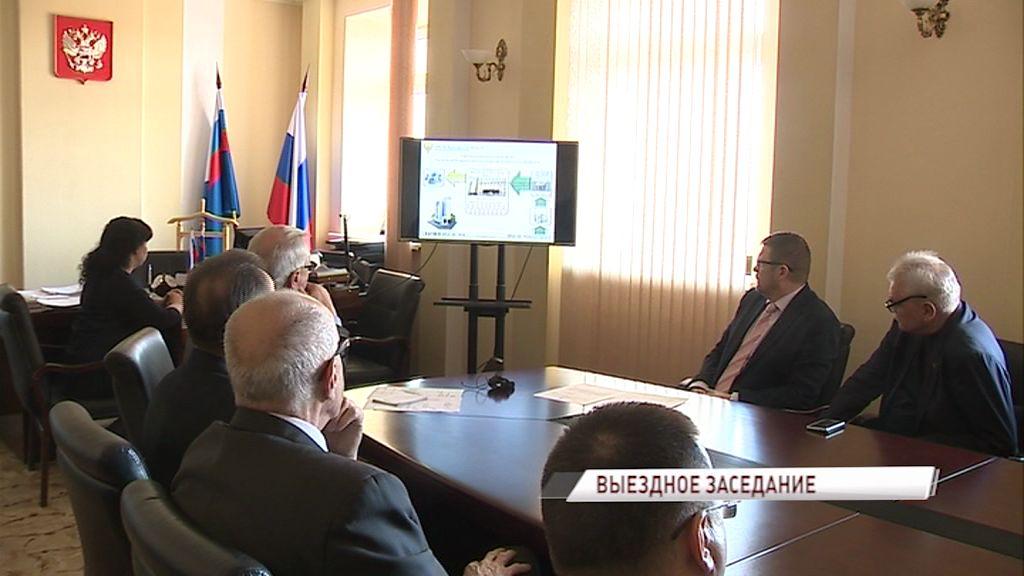 В ярославском казначействе прошло выездное заседание комитета облдумы по бюджету, налогам и финансам