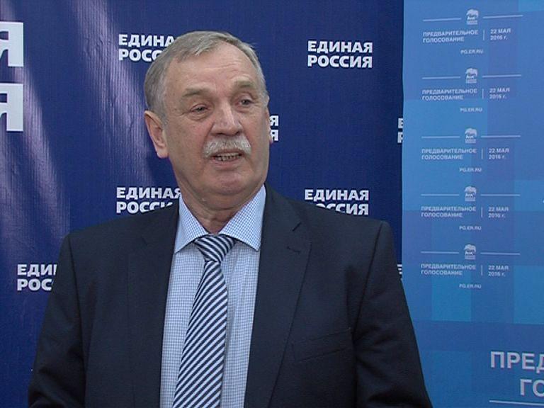 Евгений Сдвижков подал заявление на участие в праймериз