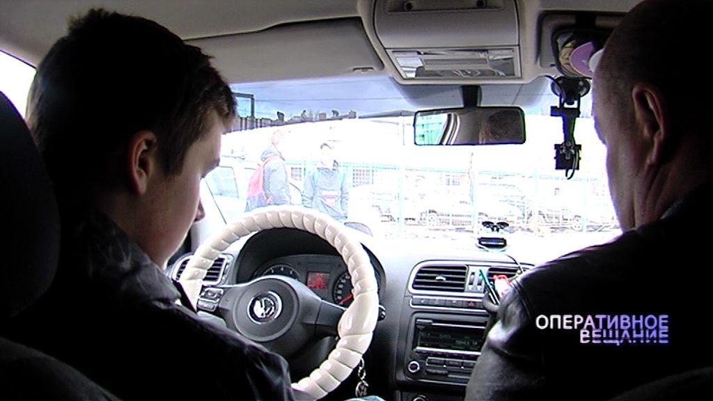 Юные инспекторы дорожного движения попробовали сами сесть за руль