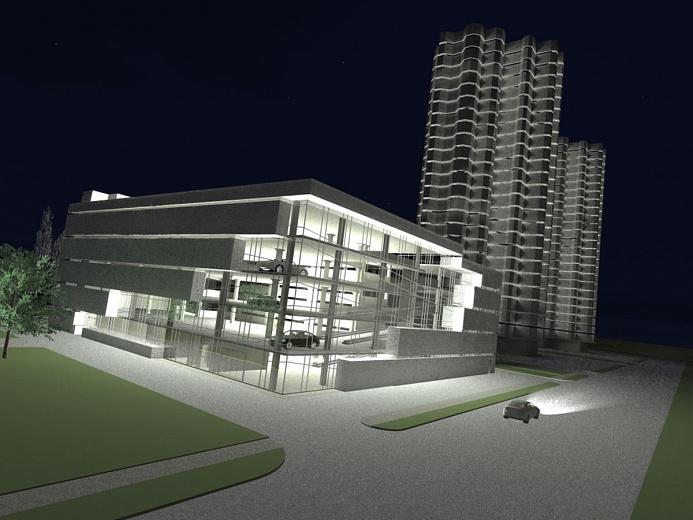 В Ярославле планируют строить многоуровневые парковки