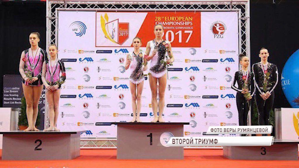 Ярославцы стали победительницами первенства мира по спортивной акробатике