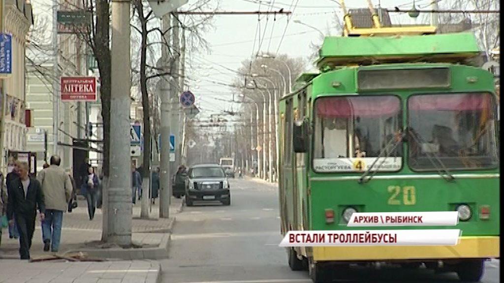 Теперь все в порядке: по Рыбинску снова ездят троллейбусы