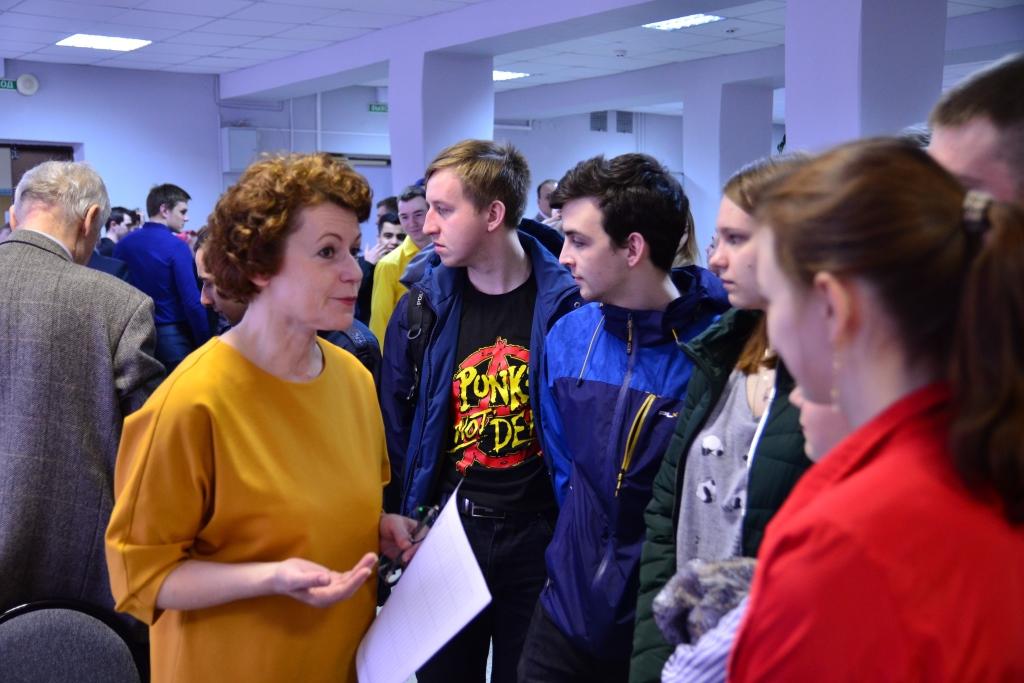Студенты и аспиранты технического университета пообщались с будущими работодателями