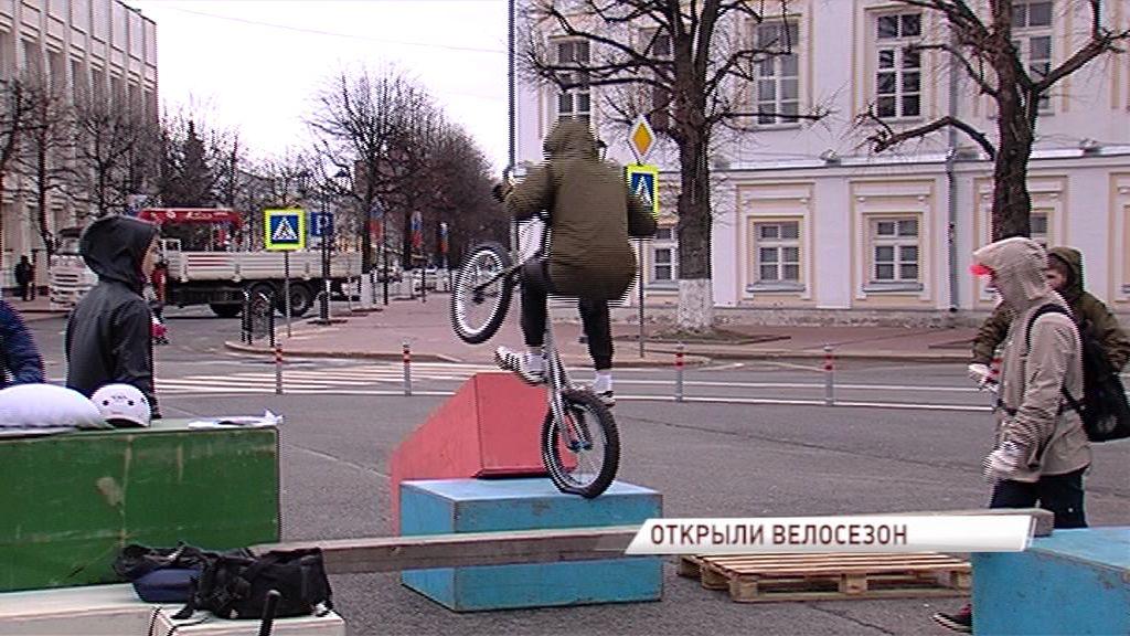 Ярославцы официально открыли велосезон