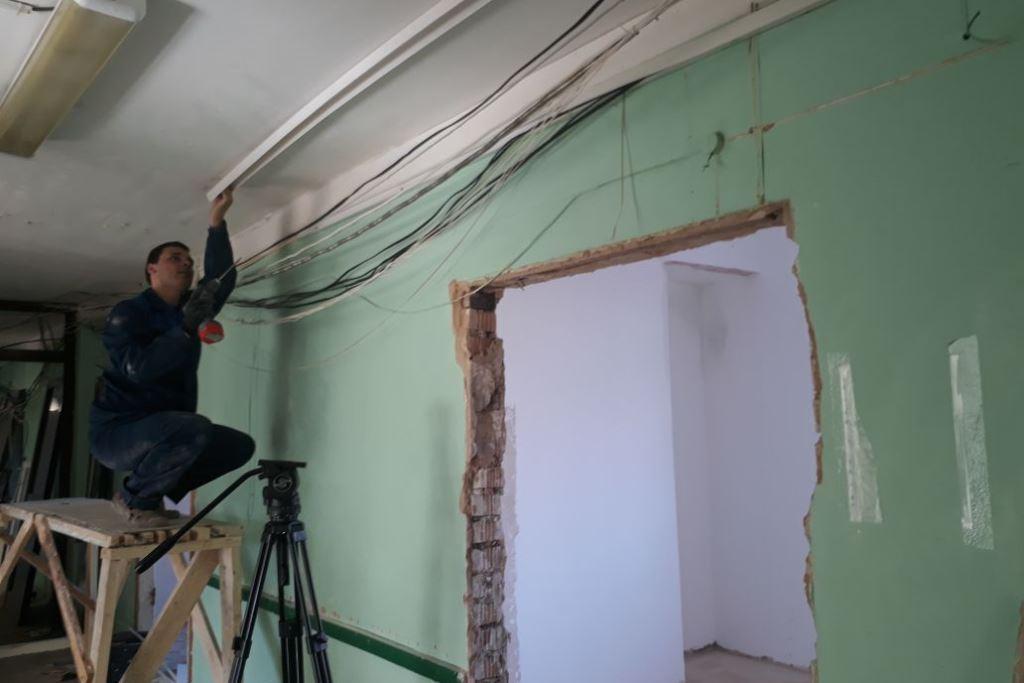 В девятой больнице Ярославля начался капитальный ремонт хирургического отделения