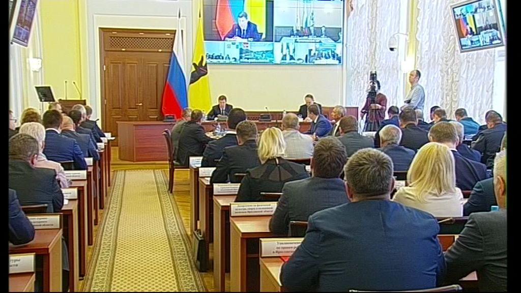Заседание правительства Ярославской области от 25.04.18