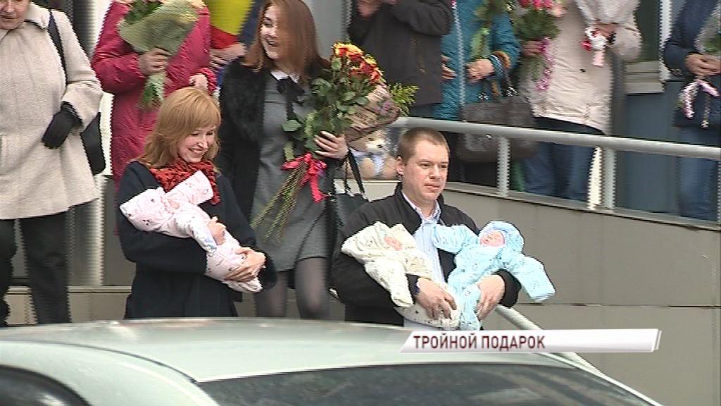 В Ярославле впервые в этом году родилась тройня