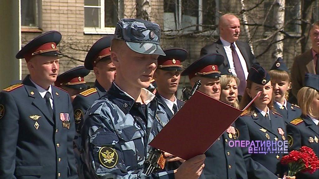 Новые сотрудники регионального УФСИН присягнули на верность службе