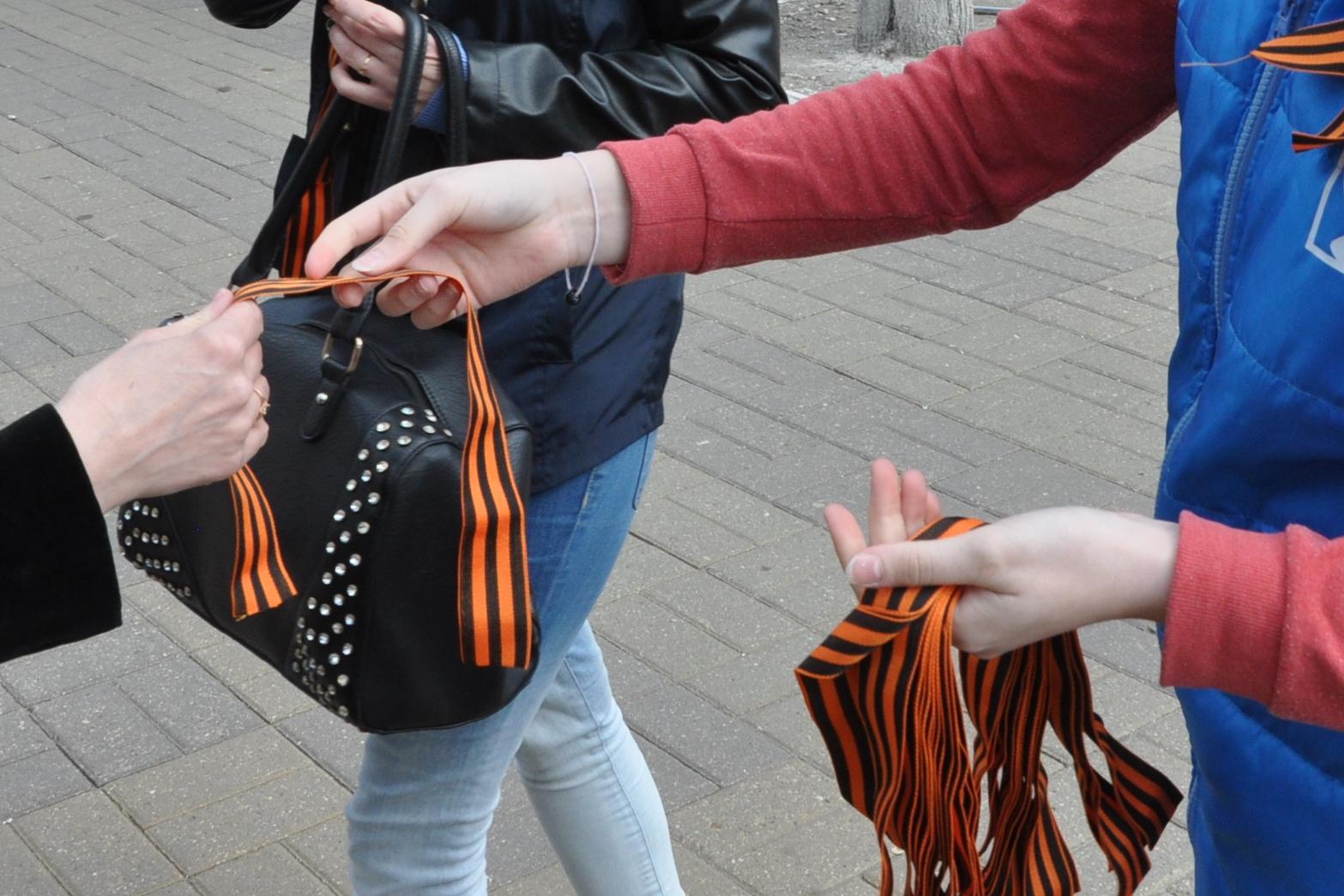 В Ярославле начнут раздавать георгиевские ленточки всем желающим