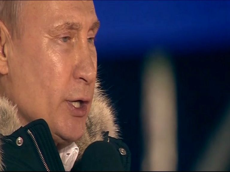 В Кремле пройдет церемонии инаугурации Владимира Путина