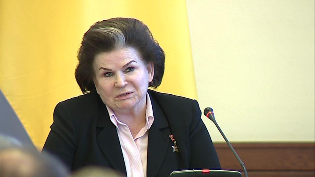 Валентина Терешкова: Вместе с Владимиром Путиным нам под силу сделать Россию сильной