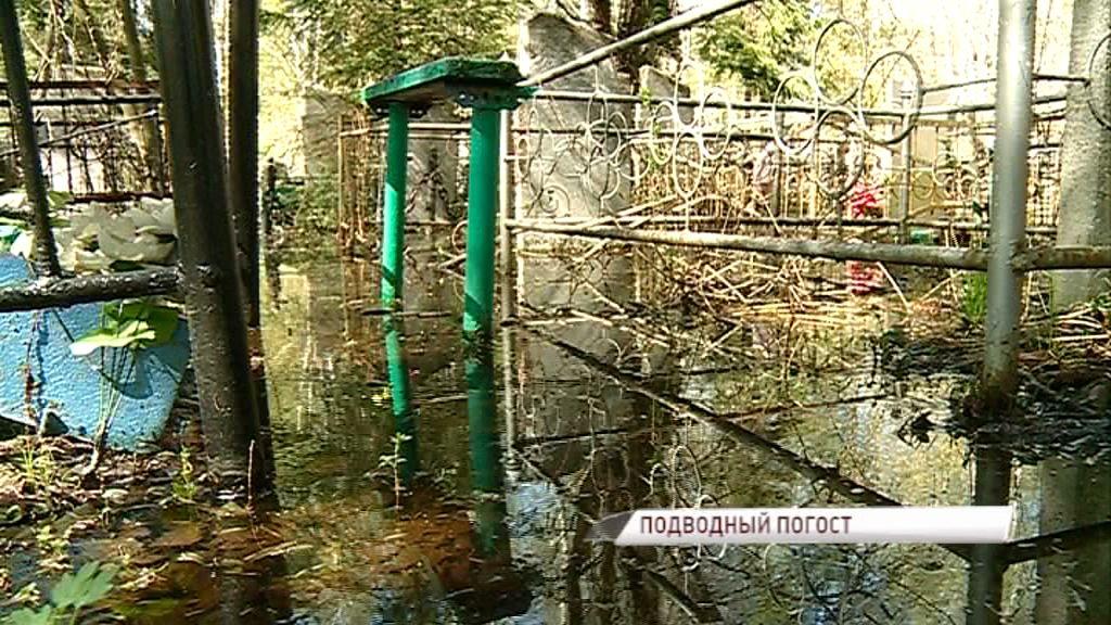 Чурилковское кладбище уходит под воду: кто ответственен за потоп на погосте