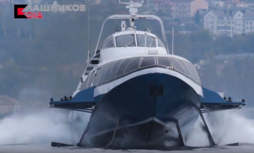 Рыбинская «Комета» будет перевозить пассажиров из Севастополя в Ялту и обратно