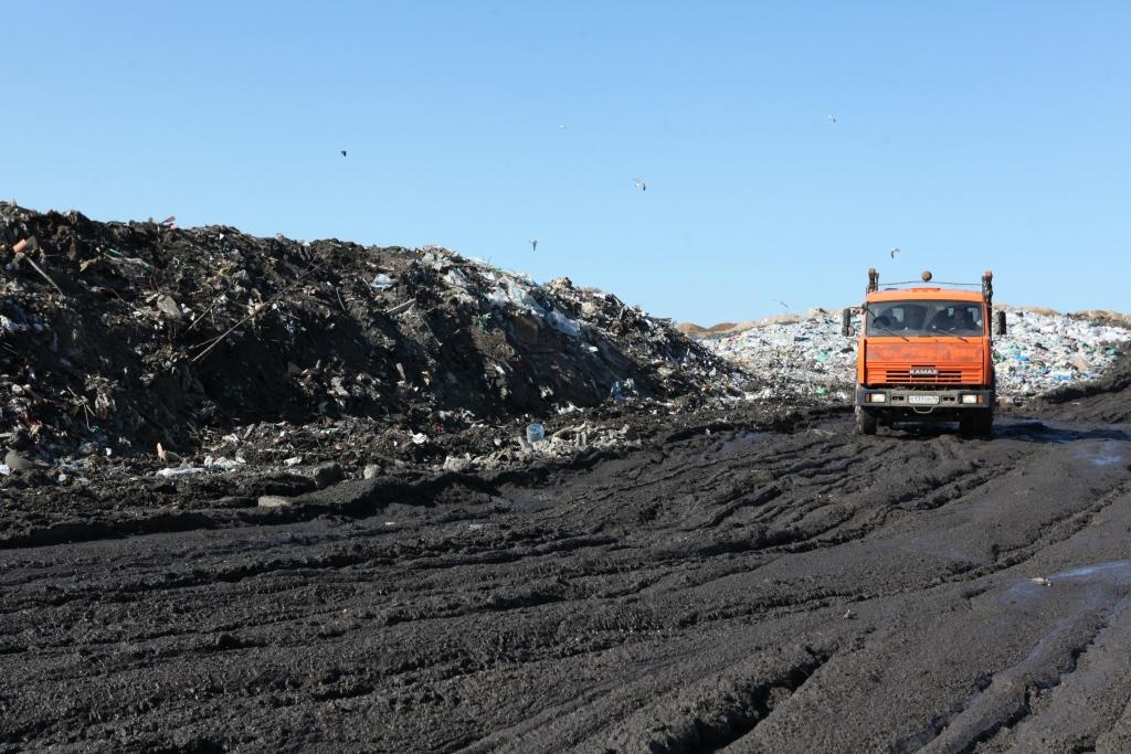 На «Скоково» поступила техника для работы с московским мусором