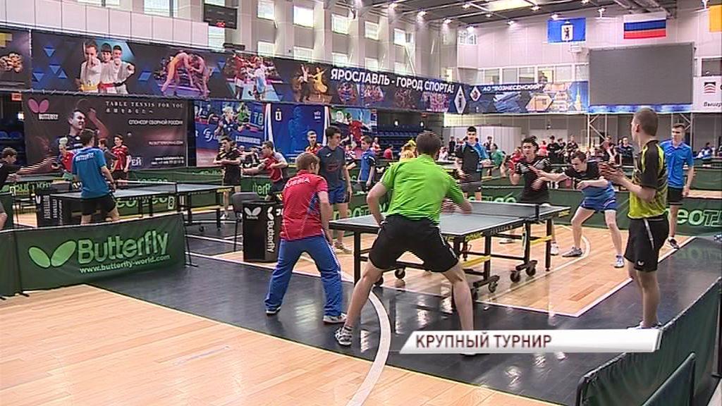 В «Вознесенском» стартовал всероссийский турнир по настольному теннису