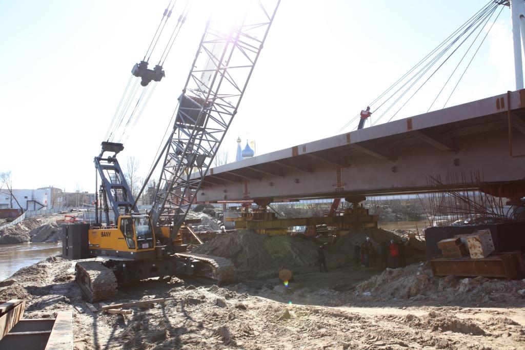 Дмитрий Миронов: Финансирование строительства моста через Которосль осуществляется в срок и в полном объеме