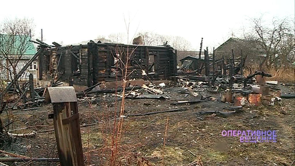 Пенсионерка получила серьезные ожоги во время пожара в ее доме