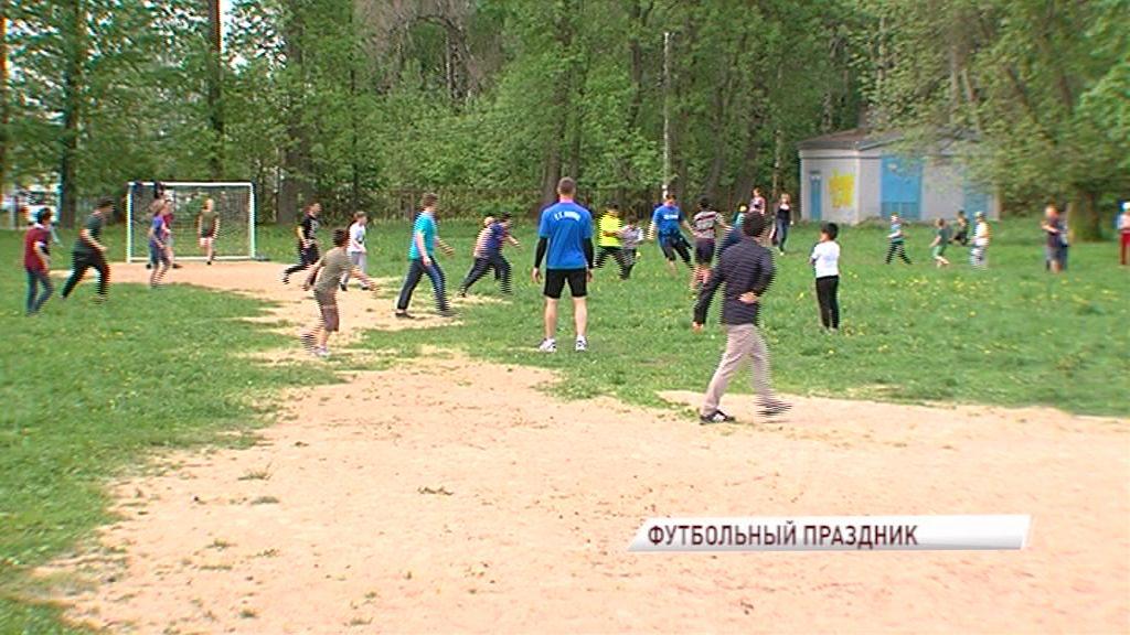Вратари «Шинника» провели мастер-класс для школьников