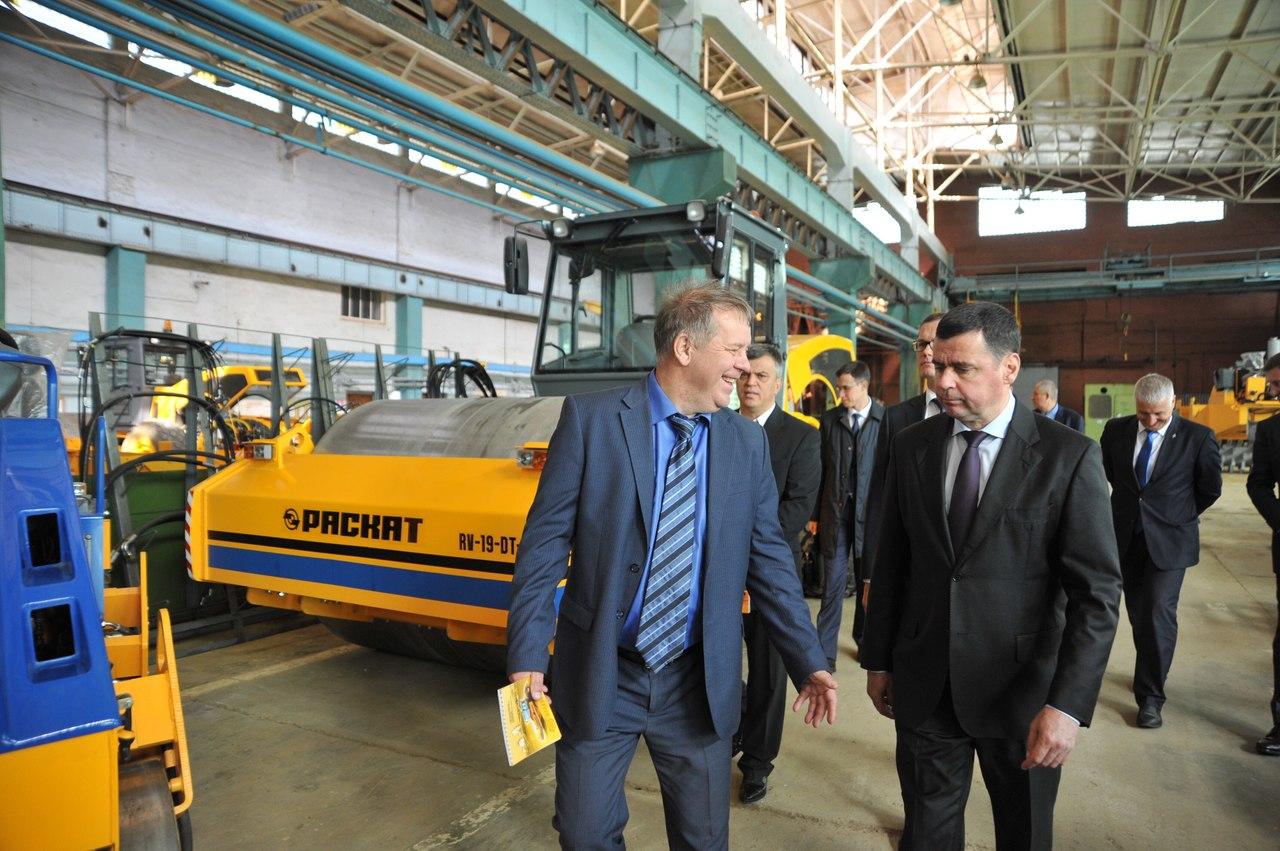 Рыбинский завод дорожных катков получил крупный заказ от Минобороны