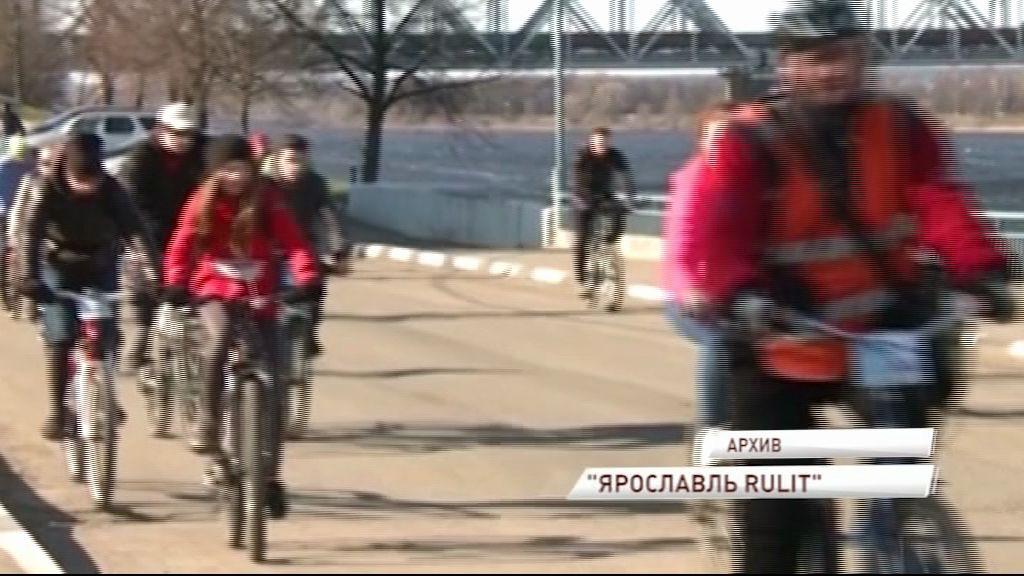 В Ярославле ограничат движения транспорта во время ночного велопробега