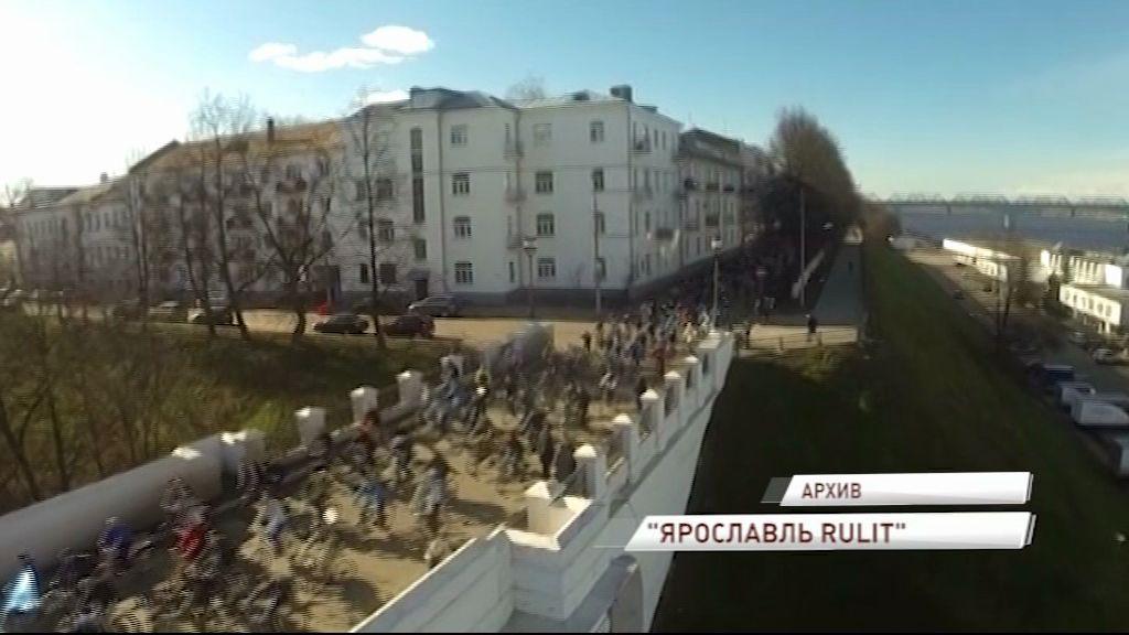 Ночной велопробег пройдет в Ярославле